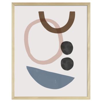 Print in lijst 40x50 cm Aquarel 3