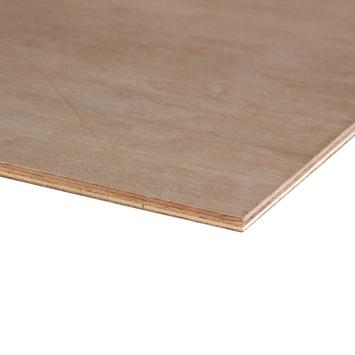 Hardhout multiplex 122x61 cm dikte 9 mm