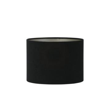 Lampenkap Velours Ø20x15 zwart