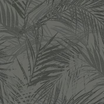 Vliesbehang summer antraciet (dessin 105738)