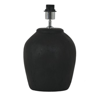 Lampvoet Solfa Ø24x38 mat zwart