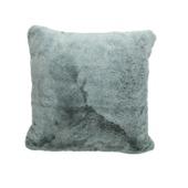 Kussen Mori polyester grijs 45x45 cm