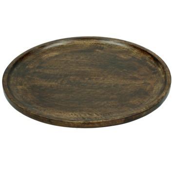 Bord Emer hout bruin 2,5x32.5x32.5 cm