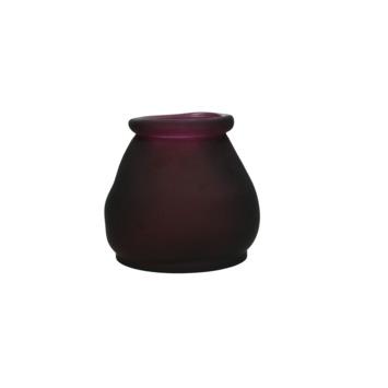 Vaas Rhea glas paars 12x12x12 cm