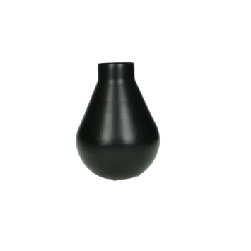 Vaas Javis metaal zwart 18x12x12 cm