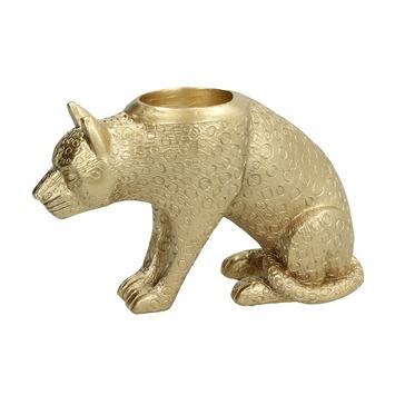 Kandelaar Tigo polyresin goud 10x17x7.5 cm