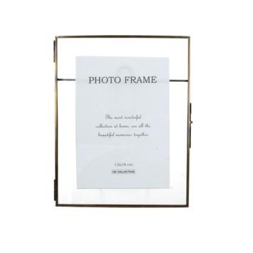 Fotolijst Phil messing/glas brons 13x18 cm
