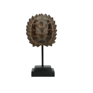 Ornament Harnas polyresin bruin 27,7x13.5x7 cm