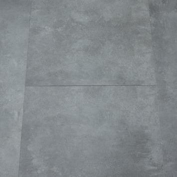Le Noir et Blanc Click PVCVloertegel Donker Grijs 4V-groef 91x46 cm 2,51 m2