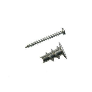 KARWEI gipsplaatplug metaal mini met schroef verzinkt 6 stuks