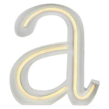 Neon led letter a