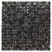 Sealskin Flor veiligheidsmat zwart 54 x 54 cm