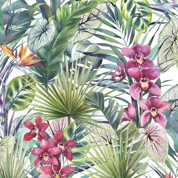 Vliesbehang Aloha tropical multicolour (dessin 104885)