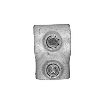 Novidade steigerbuis koppelstuk kort T-stuk 21 mm verzinkt