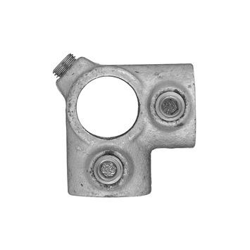 Novidade steigerbuis koppelstuk 21 mm verzinkt