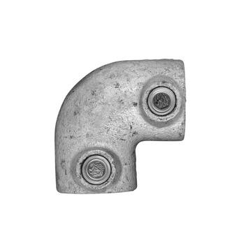 Novidade steigerbuis koppelstuk kniestuk 21 mm verzinkt