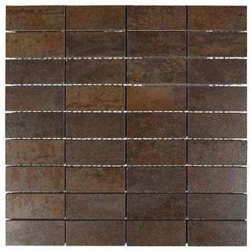 Mozaiek Corten Brons 30 cm x 30 cm