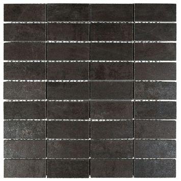 Mozaiek Corten Zwart 30 cm x 30 cm