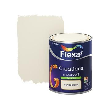 Flexa Creations muurverf extra mat vanilla cream 1 l