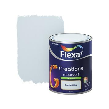 Flexa Creations muurverf extra mat frosted sky 1 l