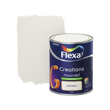 Flexa Creations muurverf extra mat soft pearl 1 l