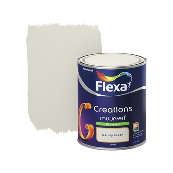 Flexa Creations muurverf extra mat sandy beach 1 l