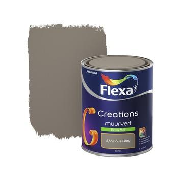 Flexa Creations muurverf extra mat spacious grey 1 l