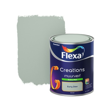 Extreem Flexa Creations muurverf extra mat early dew 1 l kopen? flexa DK71