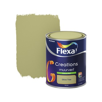 Flexa Creations muurverf extra mat olive tree 1 l