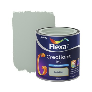 Flexa Creations binnenlak early dew zijdeglans 250 ml