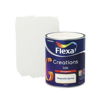 Flexa Creations binnenlak magnolia spring hoogglans 750 ml