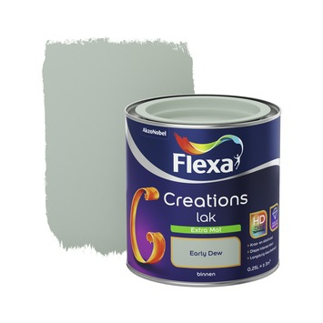 Flexa Creations binnenlak early dew extra mat 250 ml