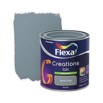Flexa Creations binnenlak denim drift extra mat 250 ml