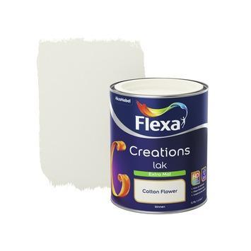 Flexa Creations binnenlak cotton flower extra mat 750 ml