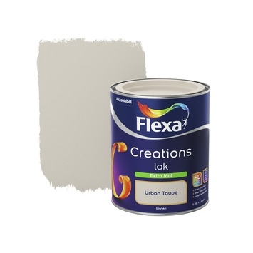 Flexa Creations binnenlak urban taupe extra mat 750 ml