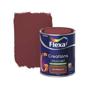 Flexa Creations muurverf red elegance extra mat 1 liter