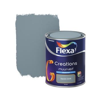 Flexa Creations muurverf denim drift zijdemat 1 liter
