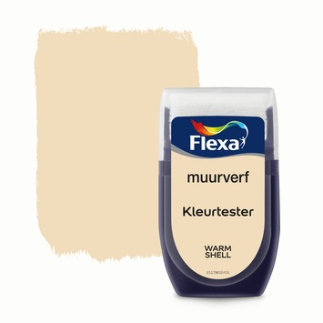 Flexa Creations muurverf Kleurtester Warm Shell mat 30ml