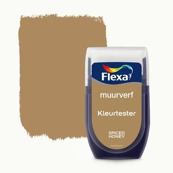 Flexa muurverf Kleurtester Spiced Spiced Honey mat 30ml