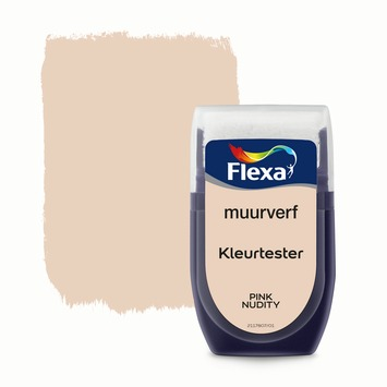 Flexa Creations muurverf Kleurtester Pink Nudity mat 30ml