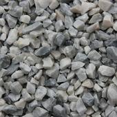 Siersplit Icy Blue blauw/grijs marmer 8-16 mm (zak 20 kg = ca. 15 ltr) (palletvoordeel 63 stuks)