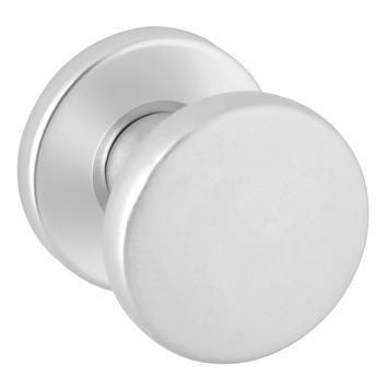KARWEI deurknop op rozet aluminium