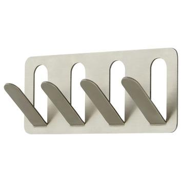 Handson 4-delige Paperclip Haak RVS