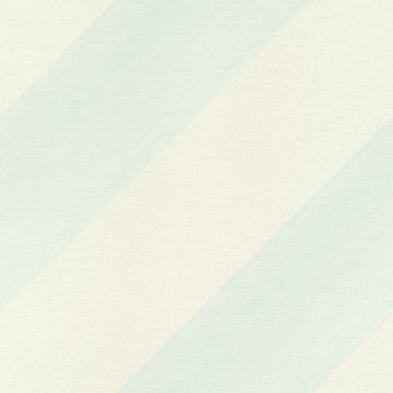 Claas vliesbehang streep blauw/wit (dessin 531602)
