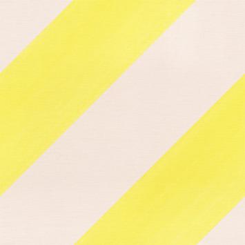 Claas vliesbehang streep roze/geel (dessin 531619)
