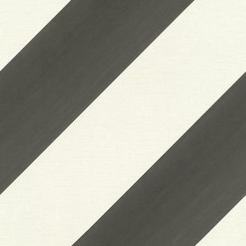Claas vliesbehang streep zwart/wit (dessin 531626)