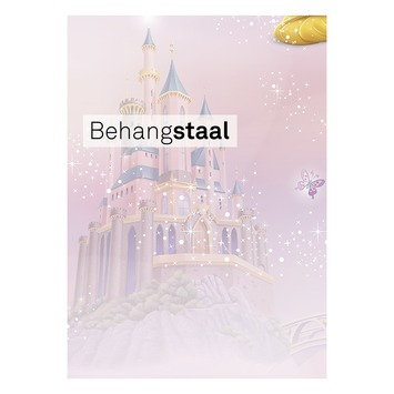 Behangstaal papierbehang princess roze (dessin 70-232)