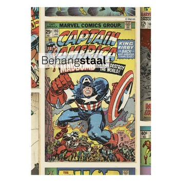 Behangstaal papierbehang Marvel actiehelden multicolour (dessin 70-238)
