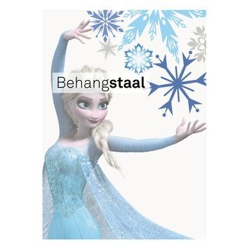 Behangstaal papierbehang Frozen Elsa blauw (dessin 70-540)