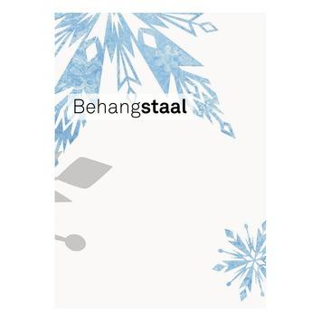 Behangstaal papierbehang Frozen sneeuwvlokken (dessin 70-541)